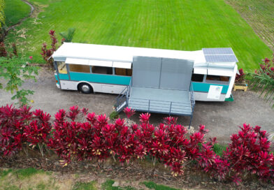 Autobuses convertidos en casas