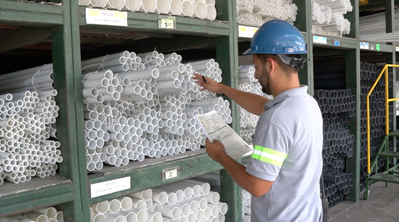 Reciclaje de residuos de PVC